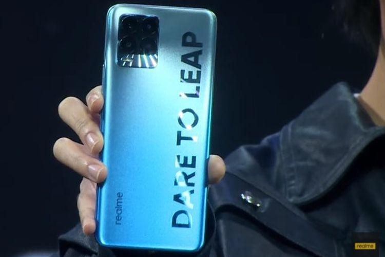 Realme 8 dan Realme 8 Pro resmi dirilis di Indonesia. Kedua ponsel ini menyasar pasar kelas menengah.