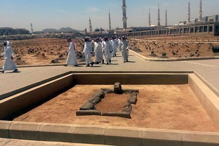 Makam Usman bin Affan di Baqi, Arab Saudi