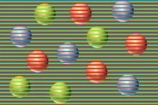 Viral soal Ilusi Optik Bola-bola Coklat Terlihat Beda Warna, Ini Penjelasan Dokter Mata