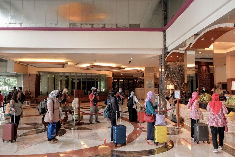 Hotel Grand Sahid Jaya sediakan akomodasi untuk tenaga medis Rumah Sakit Pelni, rujukan untuk penanganan corona (Covid-19).