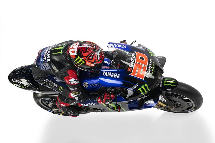 Fabio Quartararo dengan Yamaha M1 dan tim baru.