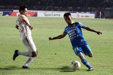 Cedera Mata, Ghozali Siregar Absen di Laga Persib Bandung Vs Arema FC