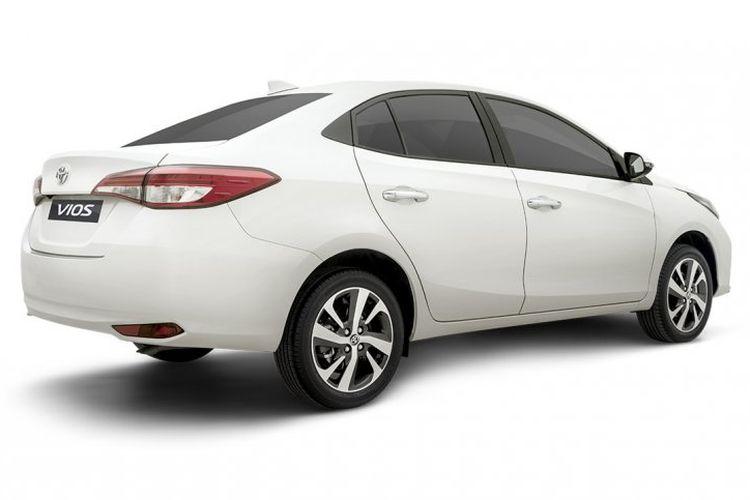 Desain Toyota Vios terbaru di Filipina secara umum belum mengalami perubahan yang berarti