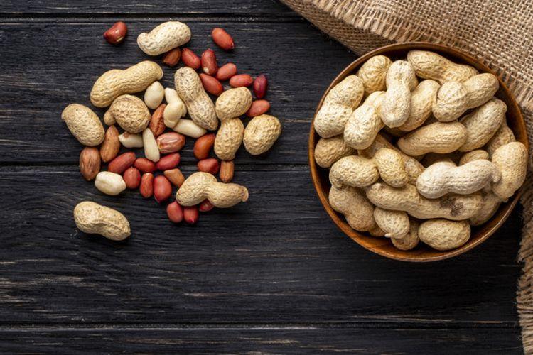 Ilustrasi kacang tanah.