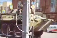 Tegang dengan Ukraina, Rusia Tank Catnya dengan