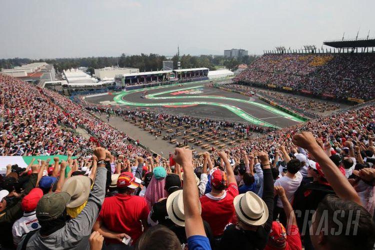 Sirkuit Meksiko untuk Formula 1.