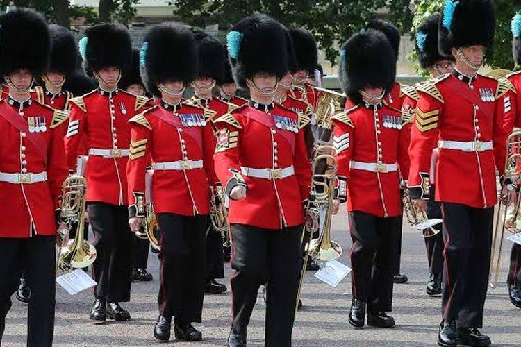 Pasukan Kerajaan Inggris.