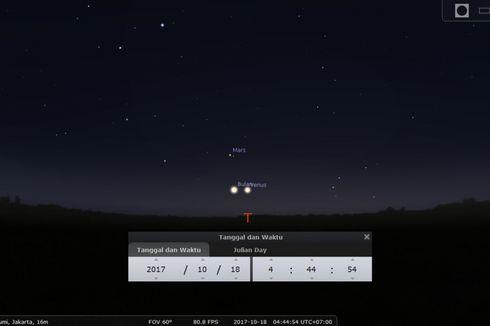 Planet-planet Tata Surya Akan Berduet Mesra Dini Hari Ini, Saksikan!