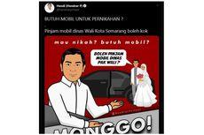 Ingin Menikah Pakai Mobil Dinas Wali Kota Semarang? Ini Caranya