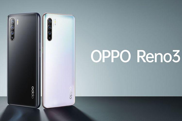OPPO Reno3 dengan kamera 108 mp.