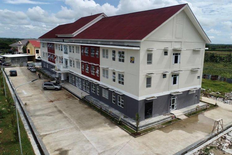 Pemanfaatan Rusunawa Masyarakat Berpenghasilan Rendah (MBR) di Lampung Selatan untuk dijadikan tempat isolasi pasien terjangkit virus Covid-19.