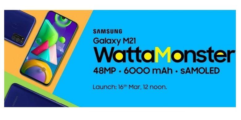 Bocoran poster Samsung Galaxy M21