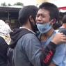 Polisi Pulangkan 17 Remaja yang Ingin Ikut Demo, Tangis Pecah Saat Dijemput Orangtua