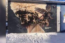 Isu Identitas, Mural Khabib Nurmagomedov Dirusak di Rusia