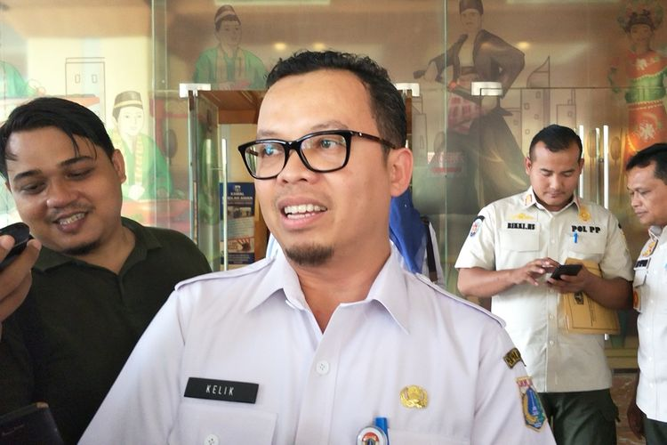 Kelik Indriyanto saat menjabat Kepala Dinas Perumahan Rakyat dan Kawasan Permukiman DKI Jakarta.