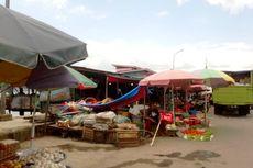 Seekor Kerbau Mengamuk, Tanduk dan Injak Sejumlah Warga di Pasar