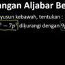 Kurangkanlah, Jawaban Soal TVRI 3 September SMP
