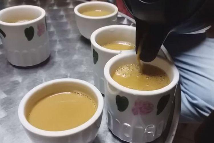 Minuman kopi durian instan di Malaysia yang diduga mengandung narkoba. (Straits Times)
