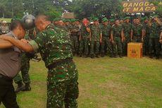 Jika Bertemu Polisi, Tentara di Kediri Dianjurkan Tersenyum