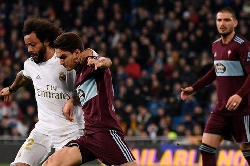 Hasil Real Madrid Vs Celta Vigo, Los Blancos Tertahan di Kandang
