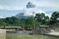 Gunung Sinabung Kembali Luncurkan Awan Panas Guguran dan Erupsi