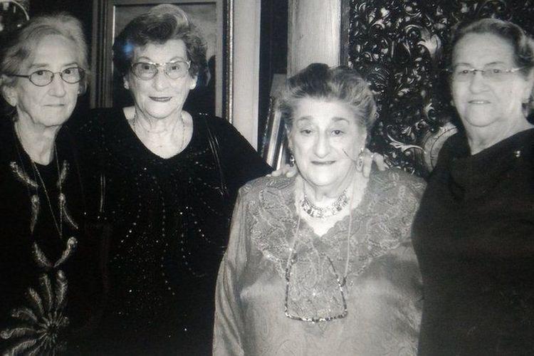 Dari kiri ke kanan: Mendiang Betsy, Annie, Dolly, dan Miny. Empat perempuan Belanda yang memilih membela Indonesia di masa perjuangan.
