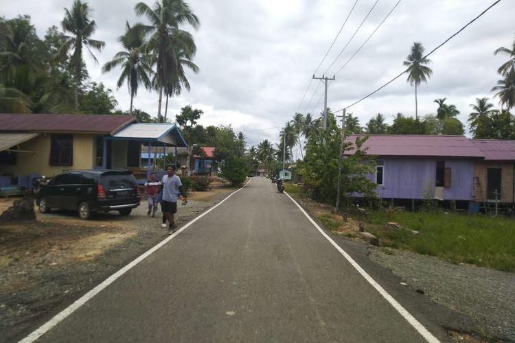 Desa Mentawir Kecamatan Sepaku, Kabupaten PPU. Kecamatan ini yang ditetapkan sebagai lokasi pemindahan ibu kota negara, Sabtu (26/10/2019).