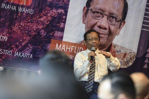 Mahfud MD Apresiasi Prabowo Ajukan Gugatan Ke MK