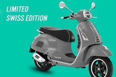 Vespa GTS Super Swiss Edition Meluncur, Cuma 300 Unit