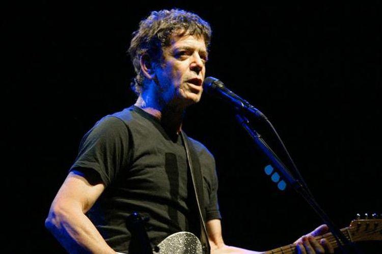 Lou Reed. Gambar diambil pada 7 Juli 2003, saat konser di Valencia, Spanyol.