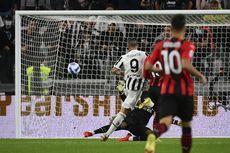 HT Juventus Vs AC Milan, Gol Kilat Morata Bawa Bianconeri Unggul