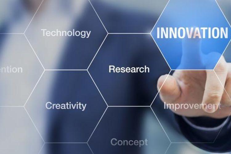 Ilustrasi inovasi teknologi