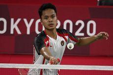 16 Besar Badminton Olimpiade Tokyo, Anthony Ginting Vs Rekan Kento Momota