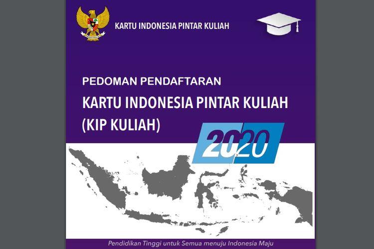 Pedoman Pendaftaran KIP Kuliah 2020 Kemendikbud RI