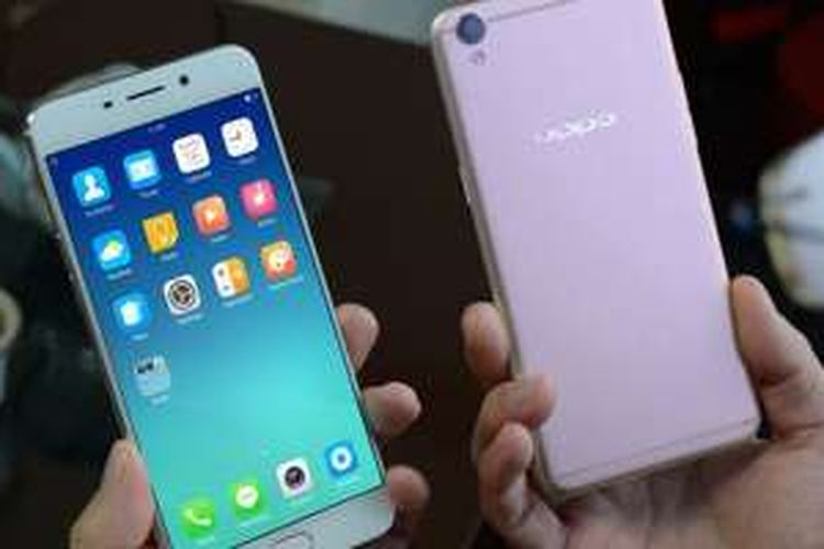 Smartphone Oppo R9 yang akan hadir di Indonesia dengan nama F1 Plus.