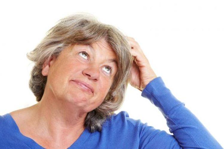 Ilustrasi pikun atau demensia pada lansia. Kenali faktor risiko kepikunan