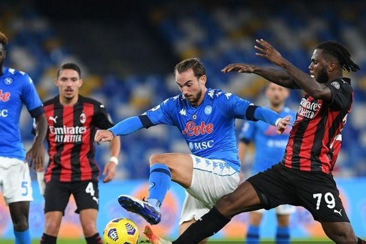AC Milan Vs Napoli, Pioli Kehilangan Calabria dan Romagnoli