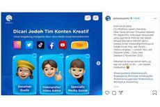 Kominfo Buka Lowongan Kerja untuk Pengelola Media Sosial, Berminat?
