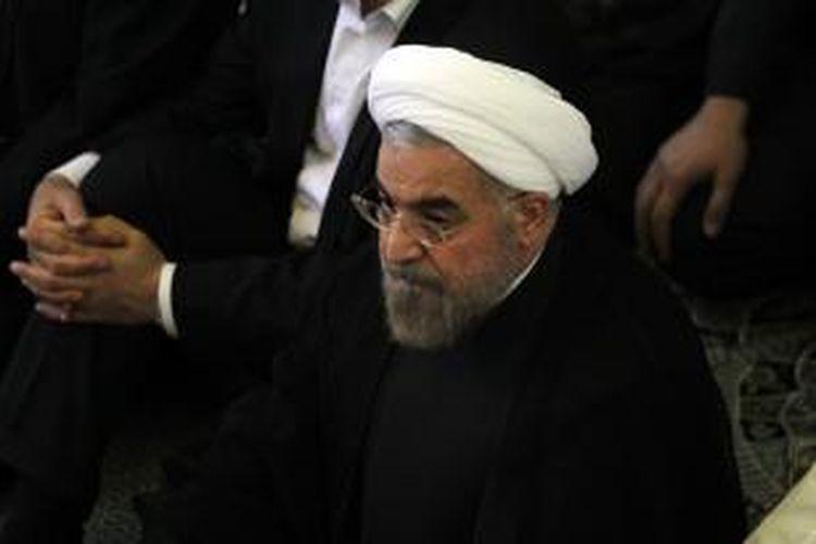 Presiden terpilih Iran, Hassan Rohani.