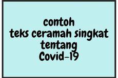 Contoh Teks Ceramah Singkat tentang Covid-19