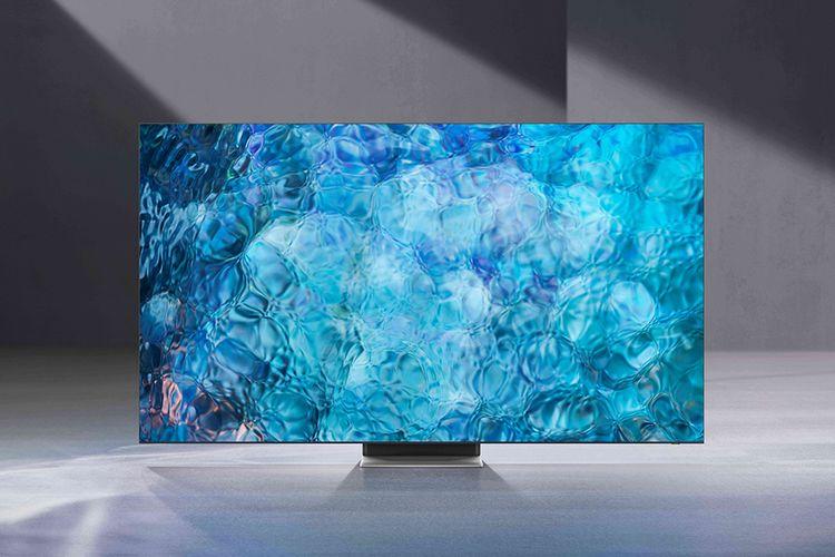 Ilustrasi TV Samsung Neo QLED 8K 2021