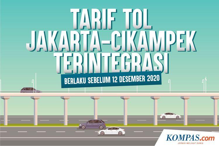 Tarif Tol Jakarta-Cikampek Terintegrasi