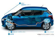 Suzuki Bawa Swift Hybrid ke GIIAS 2018
