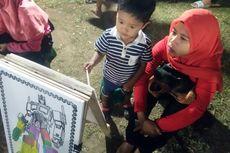 Liburan di Lhoksmauwe Aceh, Coba Ajak Anak Mewarnai di Sini...
