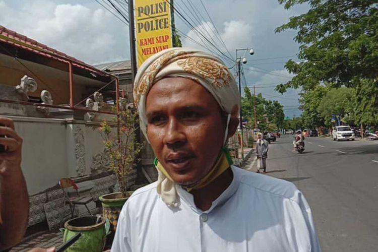Korlap aksi Umat Islam Pamekasan, Saifuddin tidak mau bertanggungjawab atas massa yang mendemo rumah Menko Polhukam Mahfud MD karena massa itu tanpa koordinasi dengan dirinya.