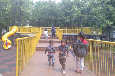 Belum Diresmikan, Taman Puring Sudah Ramai Dikunjungi