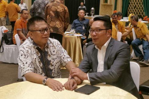 Temui Oesman Sapta, Ridwan Kamil Laporkan Kemenangannya di Pilkada Jabar
