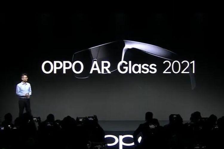 Ilustrasi Oppo AR Glass 2021.