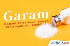 INFOGRAFIK: Mengenal Manfaat Garam, Batas Aman hingga Bahayanya apabila Dikonsumsi Berlebih...