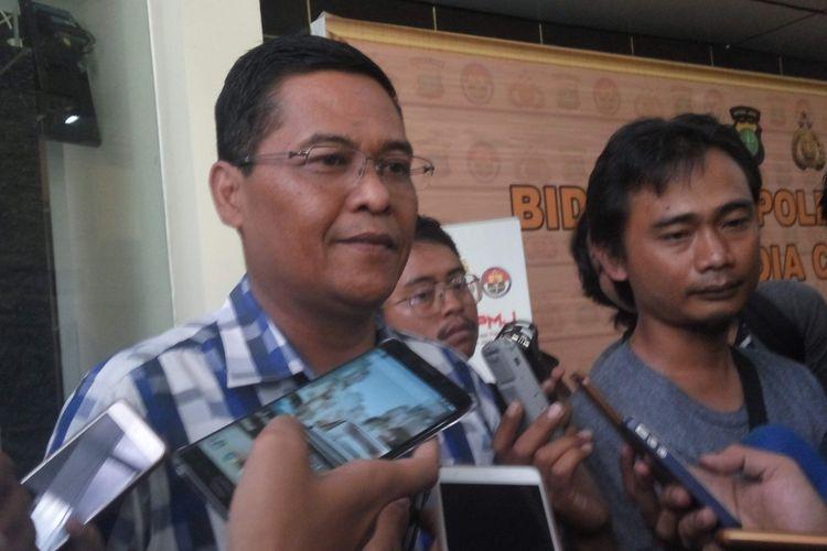 Kabid Humas Polda Metro Jaya kombes Argo Yuwono di Mapolda Metro Jaya, Kamis (11/5/2017).